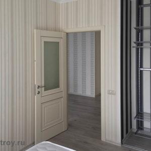 Межкомнатные двери, наличники, установка плинтусов