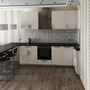 Кухня-студия: фартук, сборка и установка мебели и встроенной техники