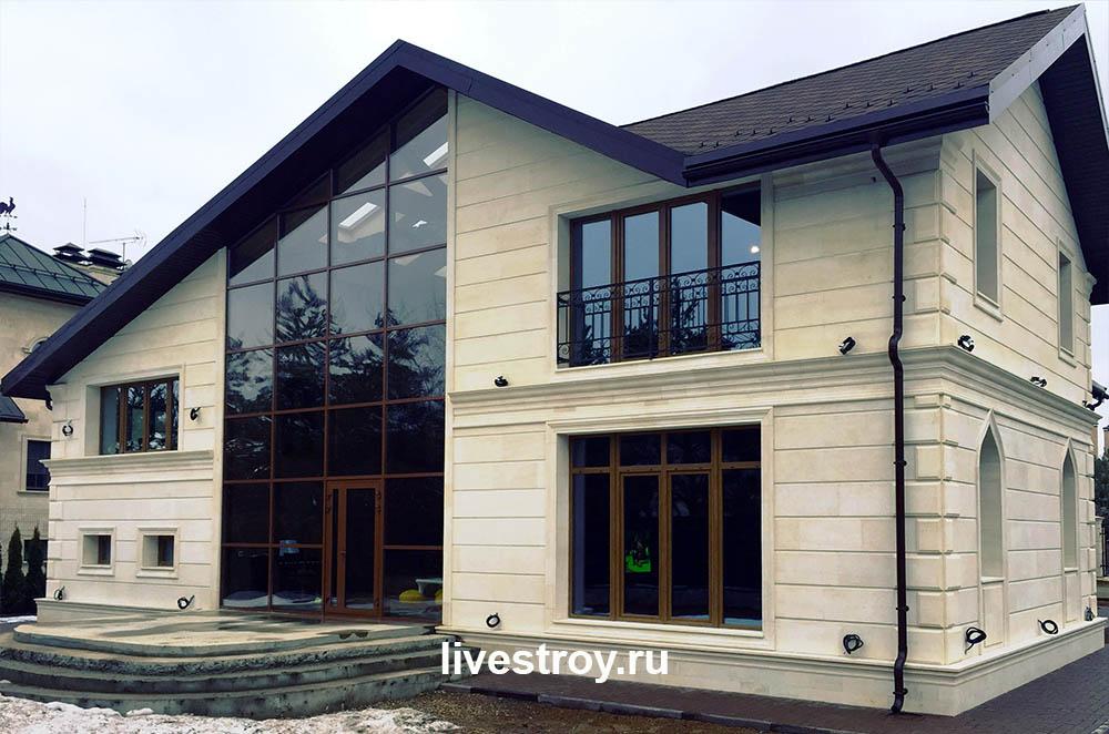 Коттедж в КП Петровский реконструкция отделочные работы и инженерные сети