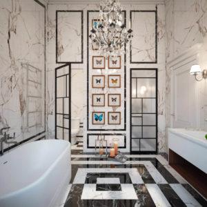 выполнение ванной комнанты под ключ