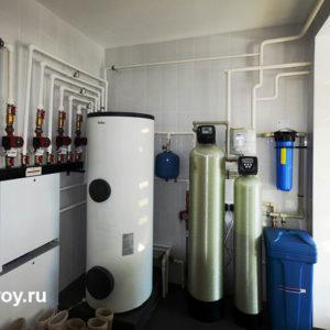 Водоподготовка и система насосов и обвязка