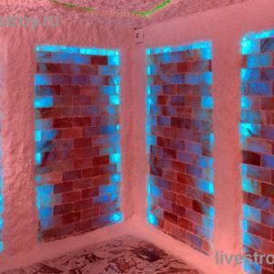 соляная комната в банном комплексе