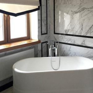 ванная комната в коттедже