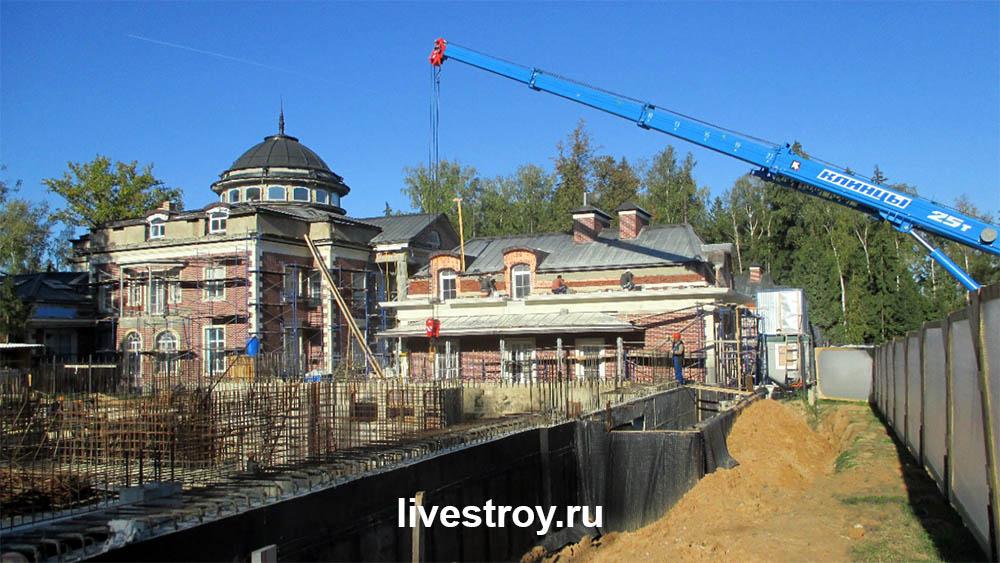 ливстрой строительство загородного дома строительство коттеджей отделка квартир в москве