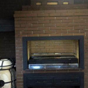 печь на углях для барбекю и шашлыка