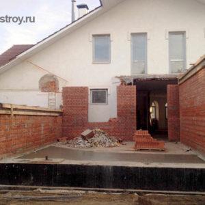 реконструкция коттеджа КП Петровский