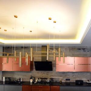 отделочные работы, потолок, уровни освещения