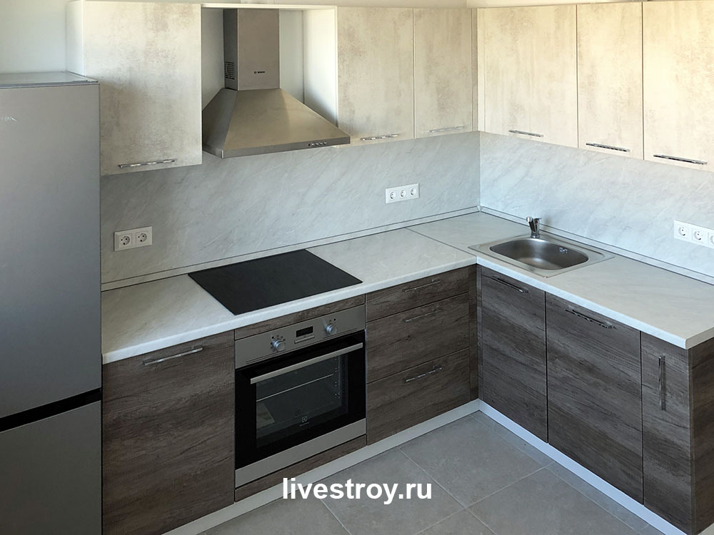 Отделка квартиры на ул Некрасова, г Балашиха завершена