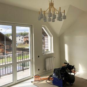 мансарда и выход на балкон