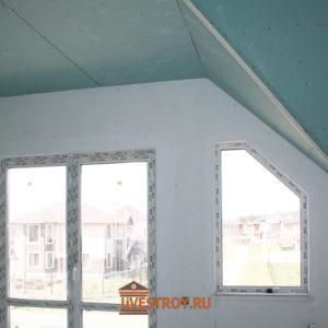 выход на балкон коттеджа