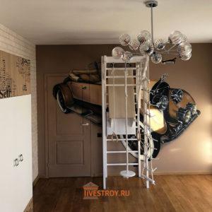 интерьер детской комнаты в готовом виде