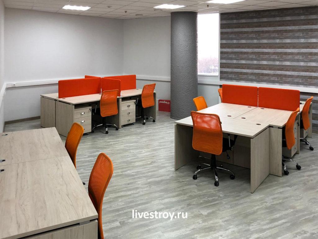 ремонт и обустройство офиса в Москве