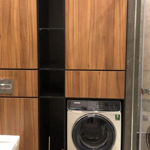 стенка со стиральной машиной