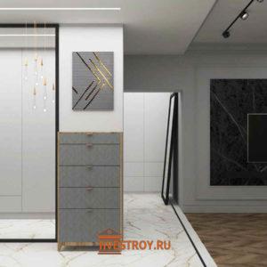 коридор, 3d модель