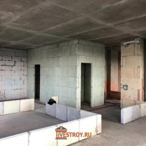 Начало ремонта, квартира «в бетоне»