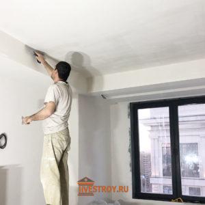 отделка потолков и стен