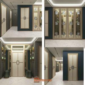 дизайнерские решения по коридорам