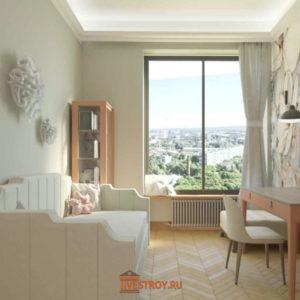 детская комната-2, 3d